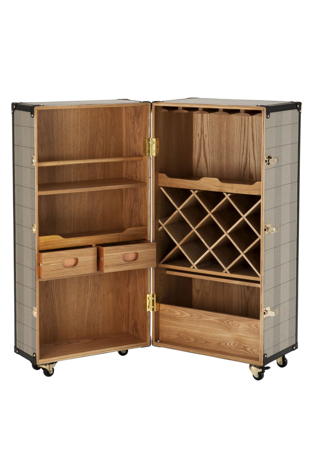 Wooden Wine Cabinet | Eichholtz Martini Bianco | Woodfurniture.com