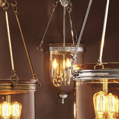 Georgian Silver Lantern -S | Eichholtz Cameron | OROA-Luxury Lighting