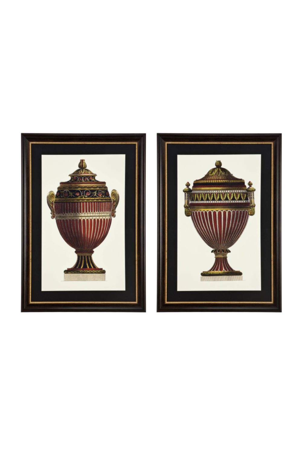 Empire Urns Prints Set | Eichholtz