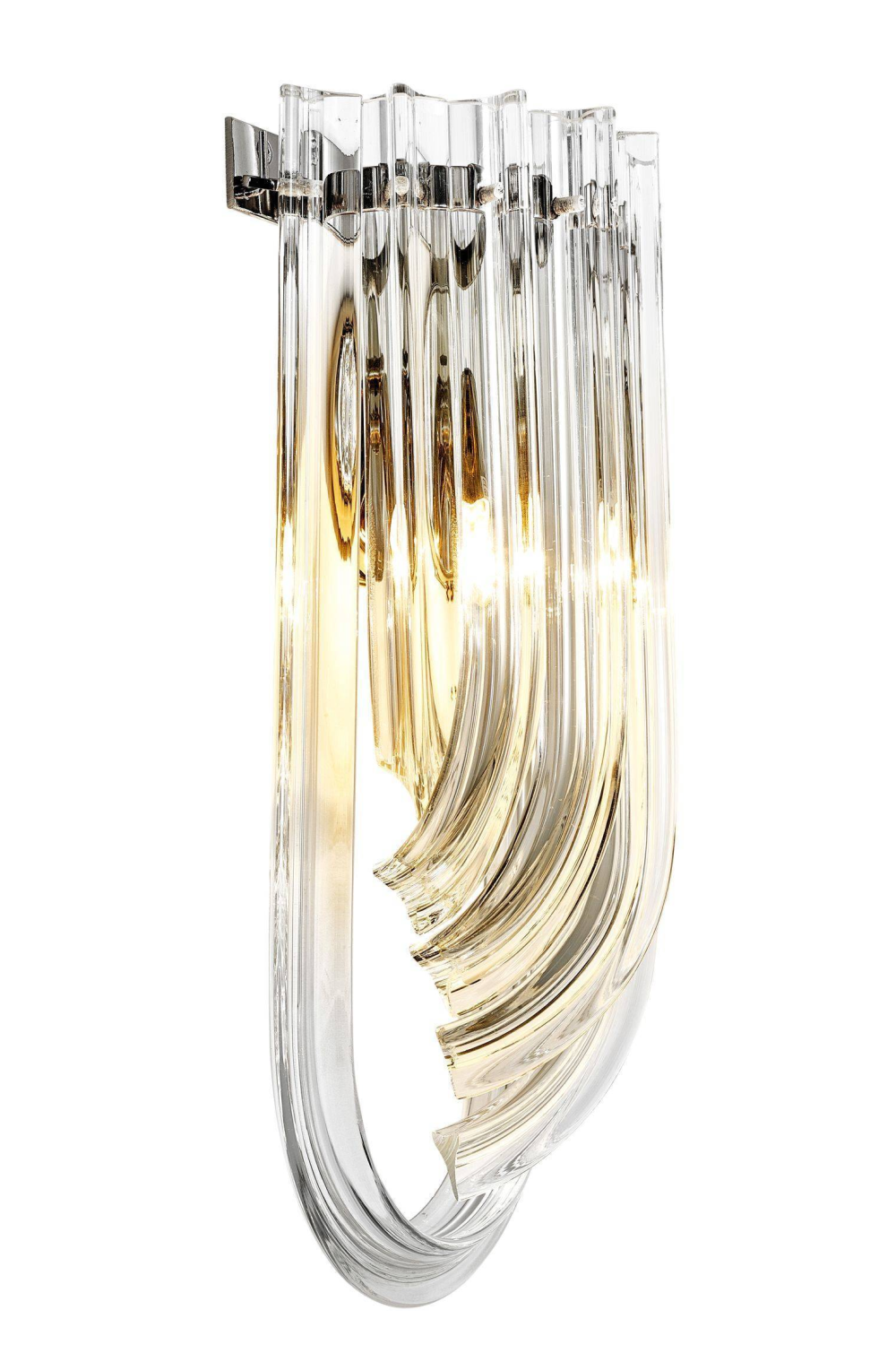 Lucite Loop Wall Sconce | Eichholtz Greco | OROA Luxury Furniture