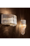 Lucite Loop Wall Sconce   Eichholtz Greco