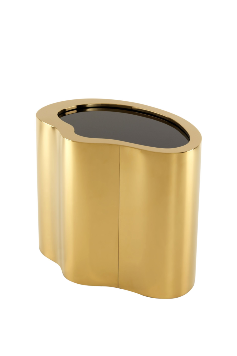 Gold & Black Side Table | Eichholtz Gibbons