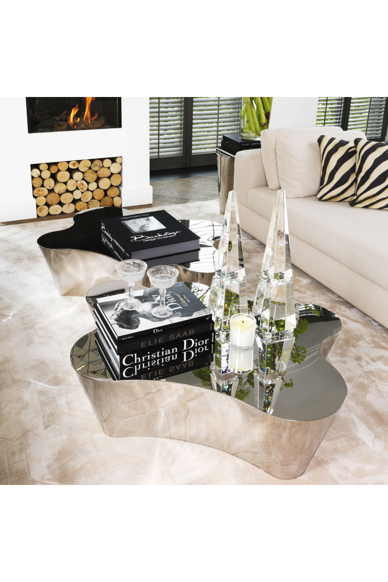 Silver Tree Stump Coffee Table | Eichholtz Sceptre |