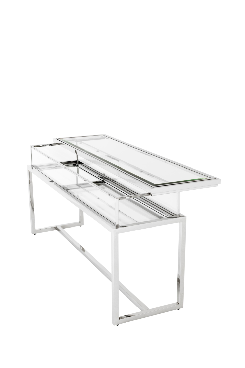 Silver Sliding Top Console Table | Eichholtz Harvey | #1 Eichholtz