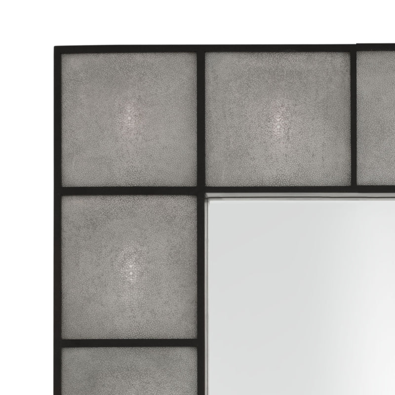 Gray Rectangular Mirror | Eichholtz Shagreen