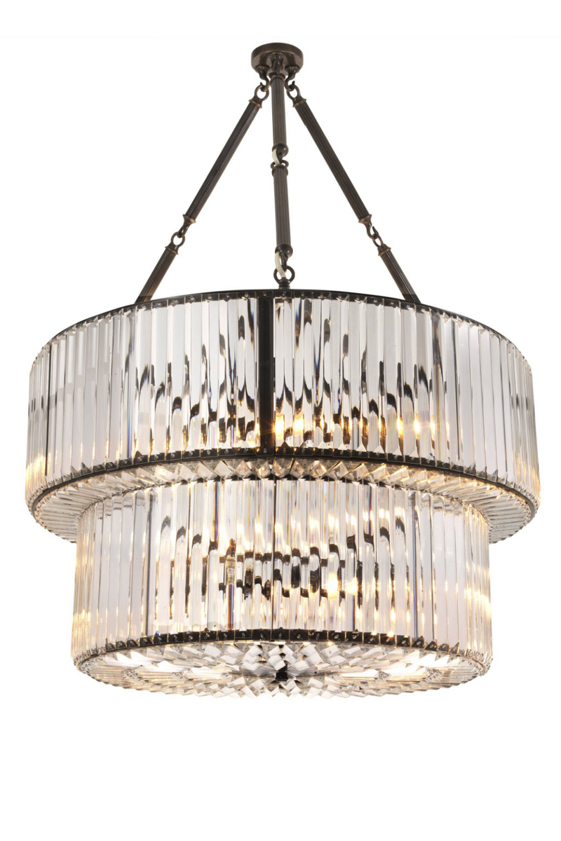 Double Layered Glass Chandelier | Eichholtz Infinity | OROA Furniture