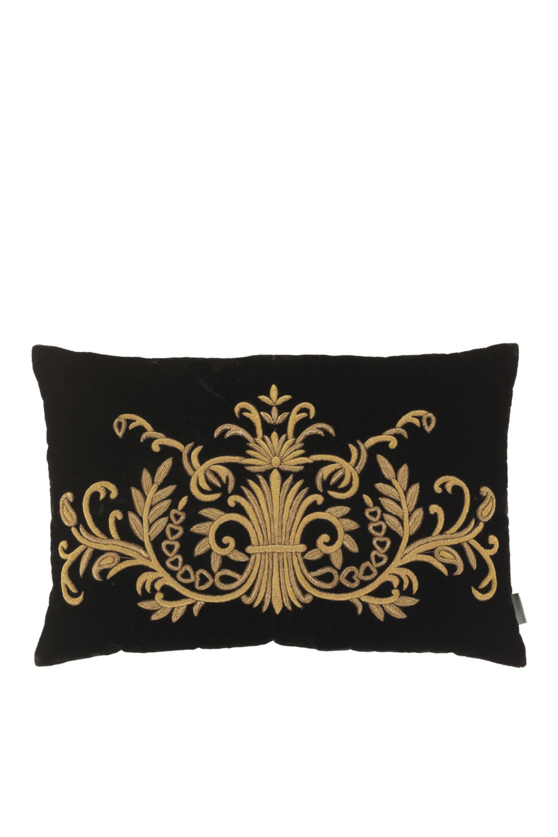 Black Traditional Pillow | Eichholtz Gauthier | OROA Luxury Decor