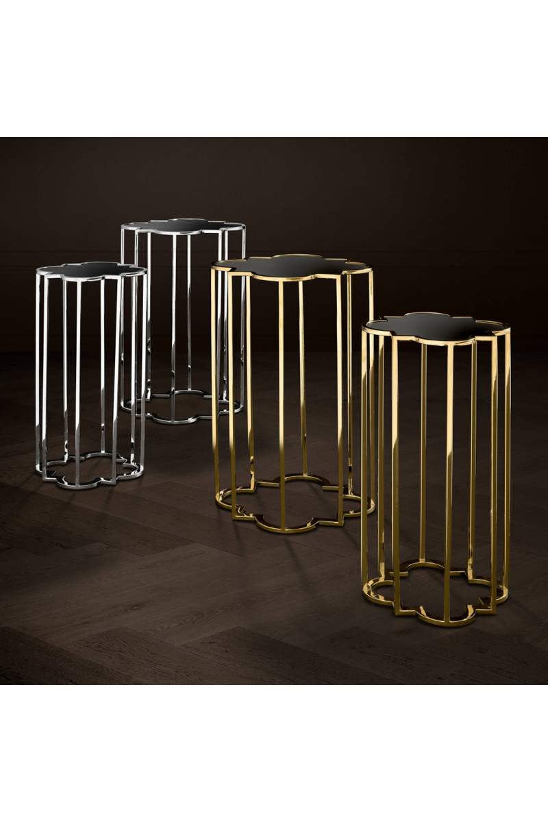 Gold Side Table (Set of 2) | Eichholtz Concentric | OROA Furniture
