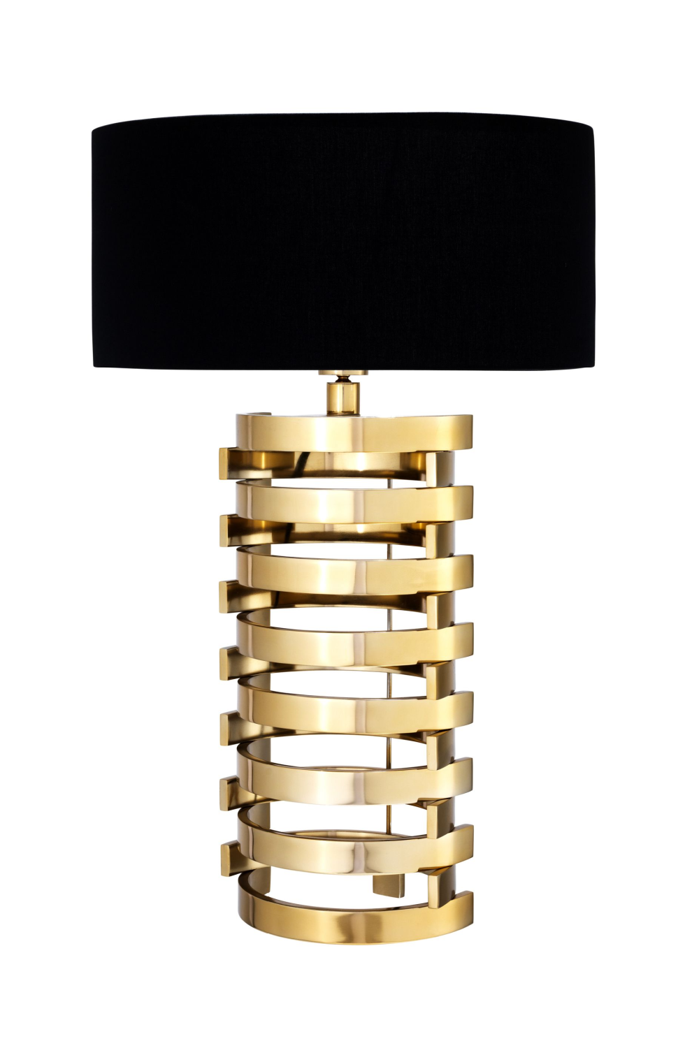 Gold Stacked Table Lamp | Eichholtz Boxter - L | OROA Modern Furniture