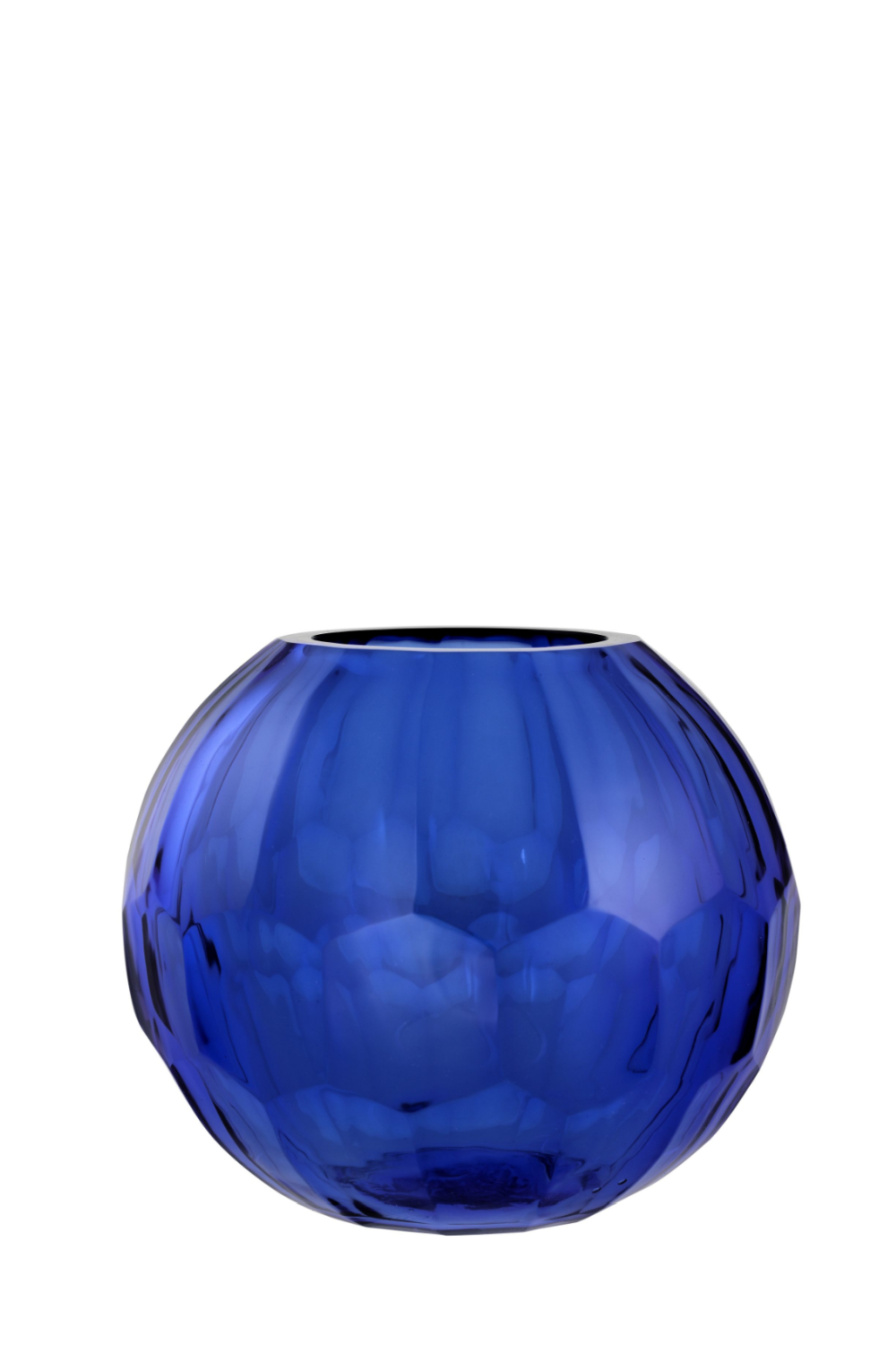 Blue Glass Vase - S | Eichholtz Feeza | OROA Modern & Luxury Furniture