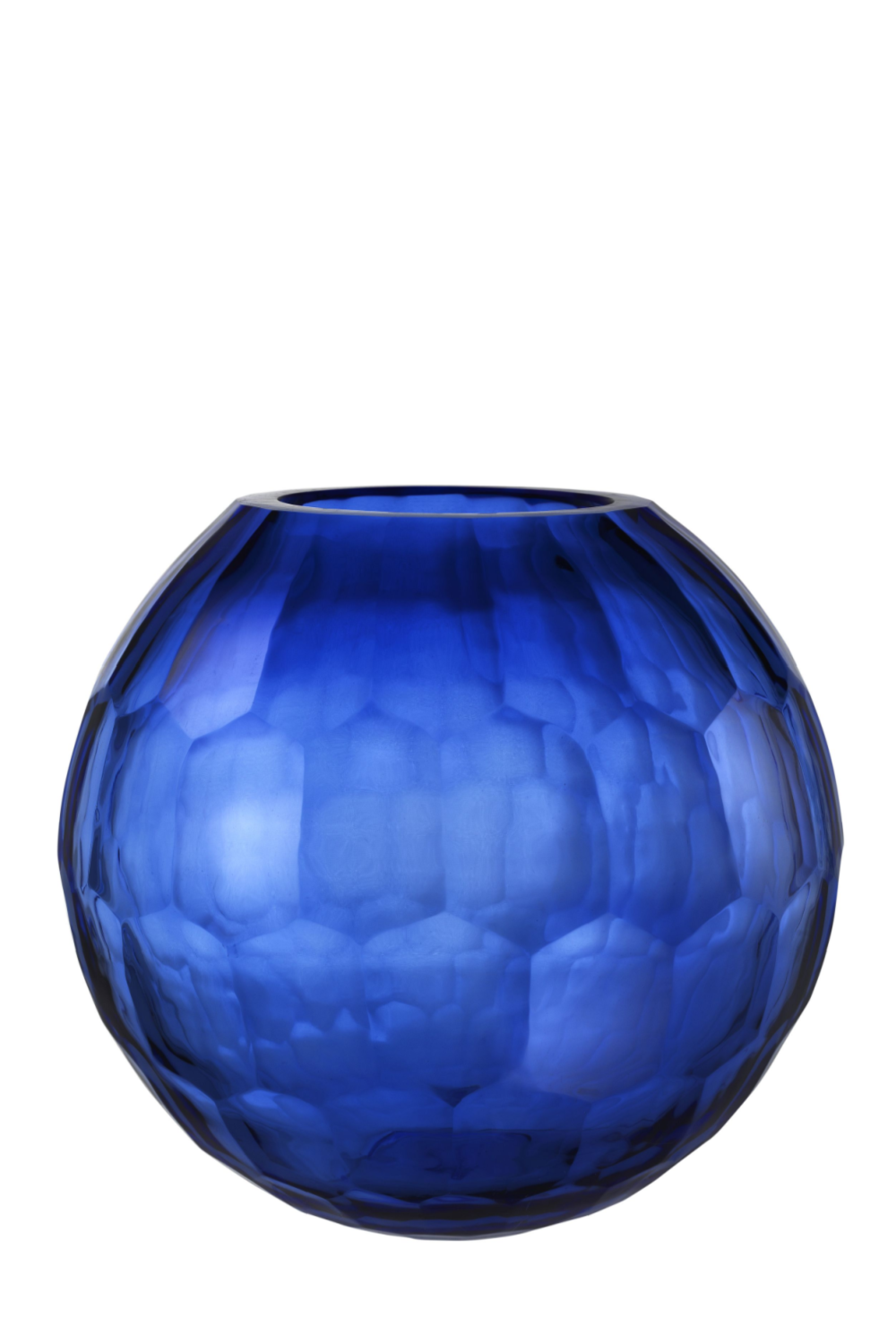 Blue Glass Vase - L | Eichholtz Feeza | OROA Modern & Luxury Furniture