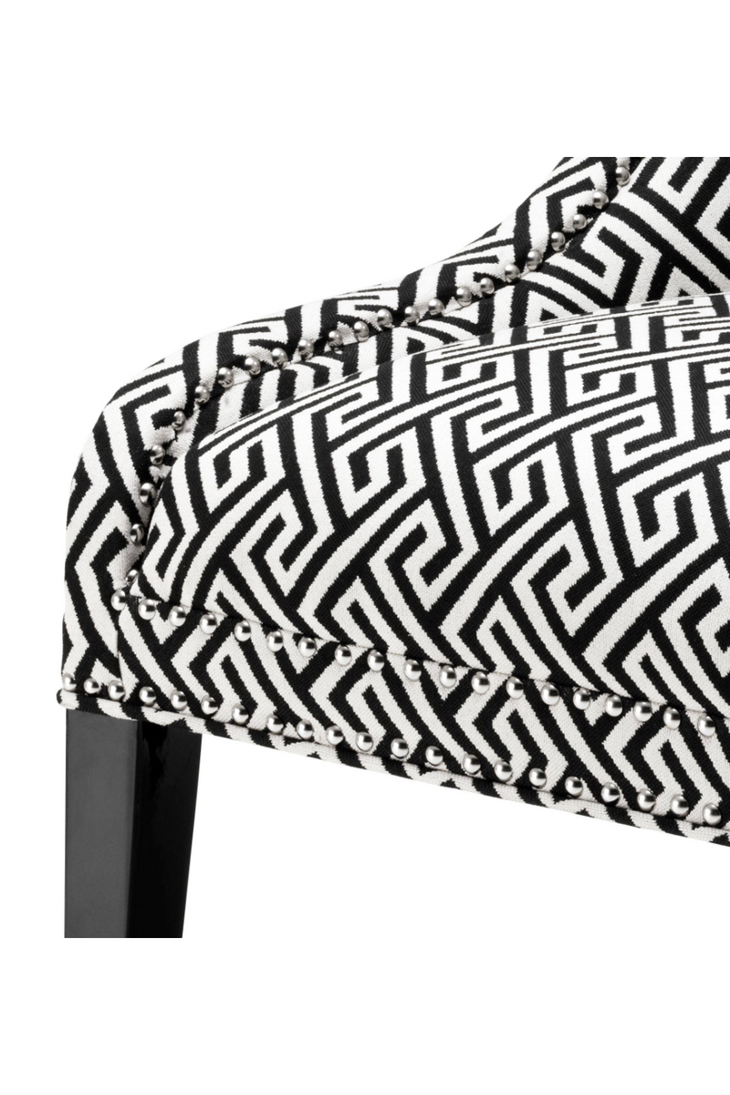Black & White Dining Chair | Eichholtz Elson |