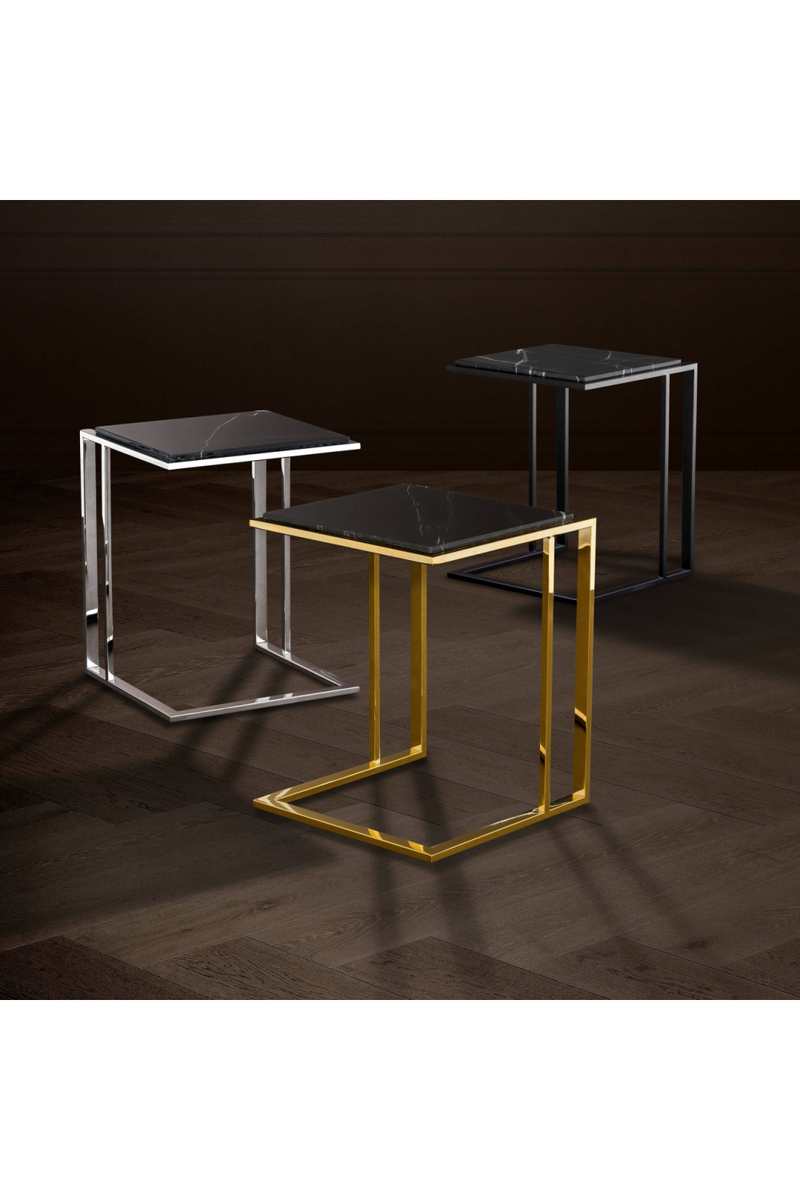 Gold Finish Side Table | Eichholtz Cocktail | OROA Luxury Furniture
