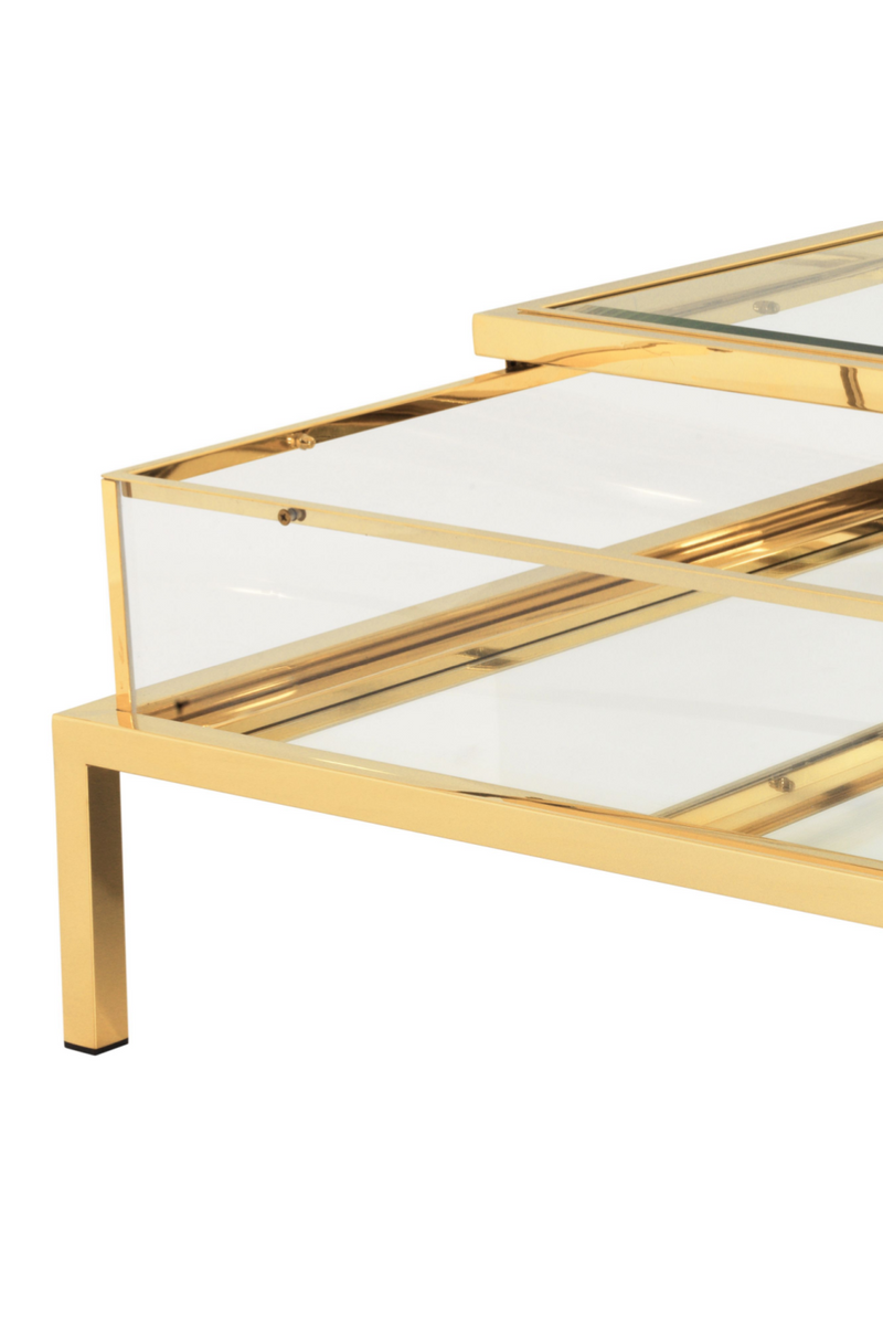 Gold Glidende Top Coffee Table | Eichholtz Harvey