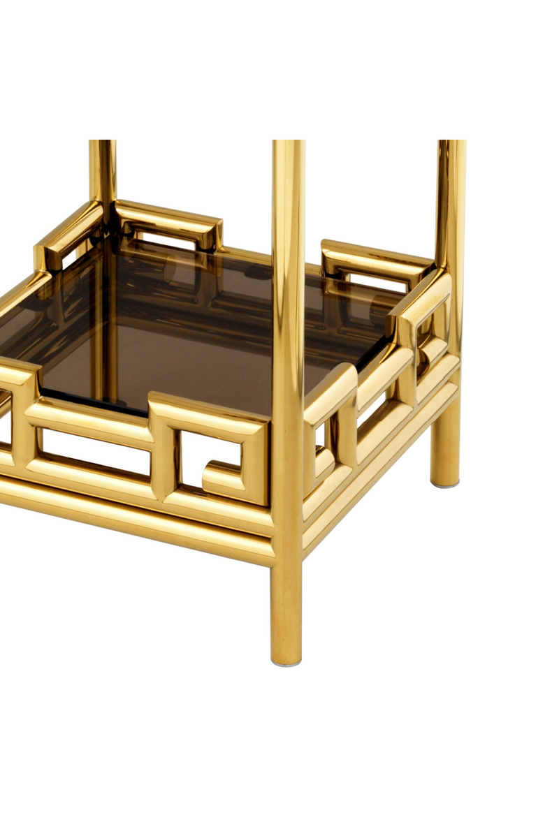 Gold Glass Column | Eichholtz Niagora | OROA Modern Furniture