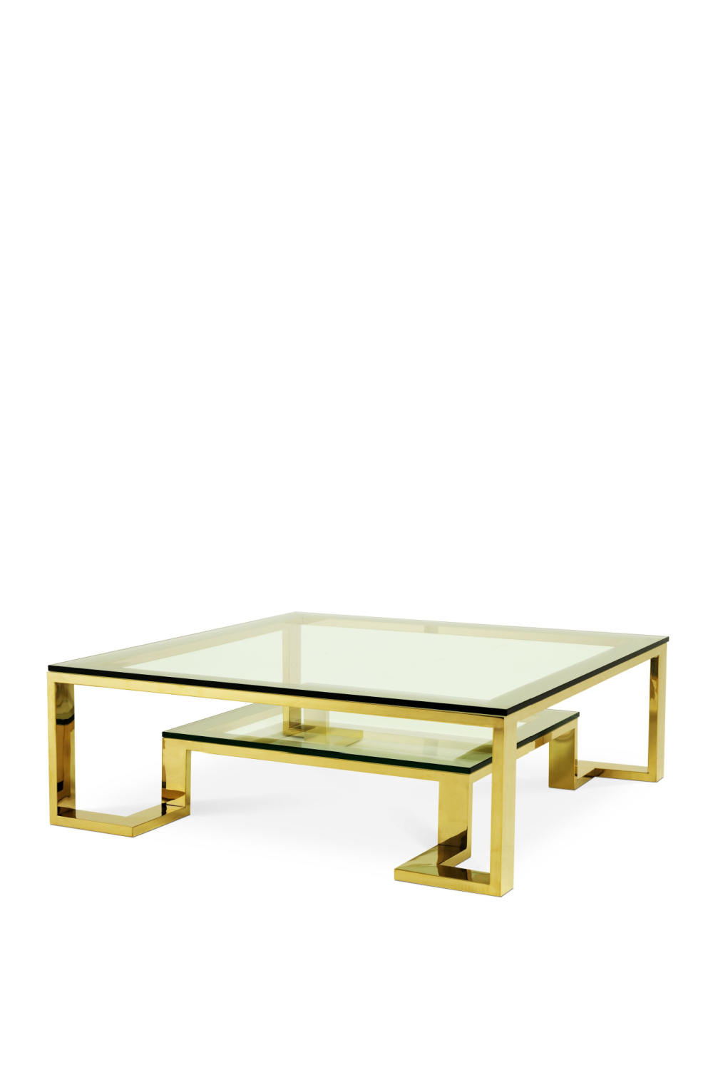 Two Level Gold Coffee Table | Eichholtz Huntington