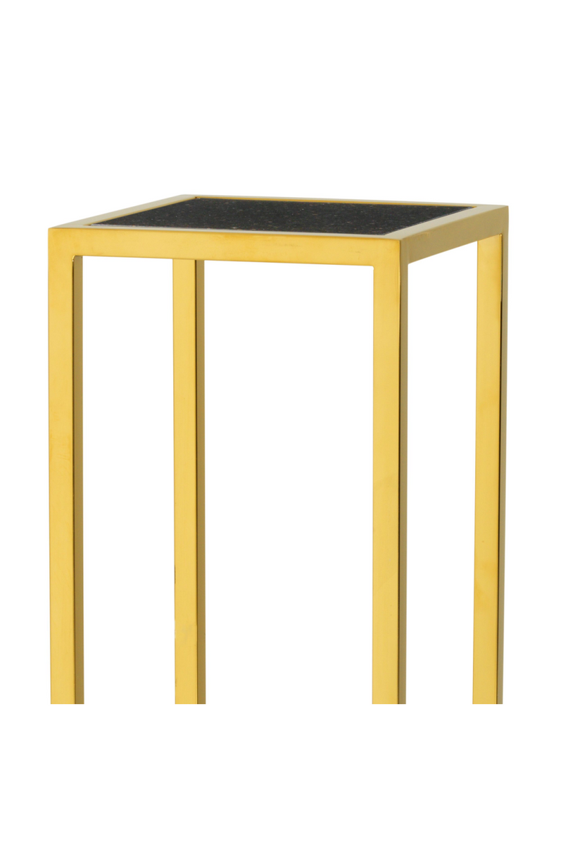 Gold Marble Column (L) | Eichholtz Odeon | OROA Modern Furniture