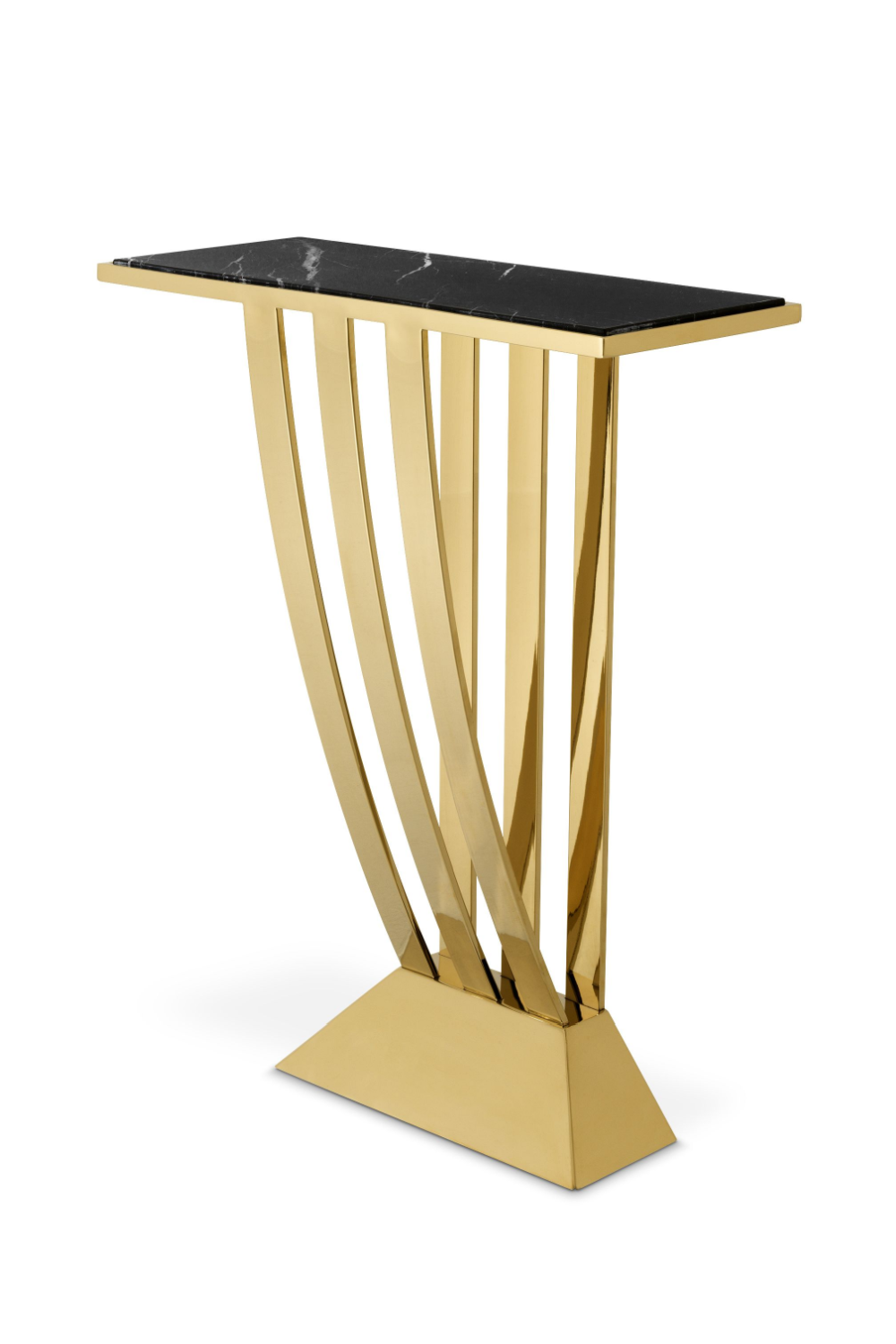 Small Gold Art Deco Console Table | Eichholtz | Eichholtz Retailer