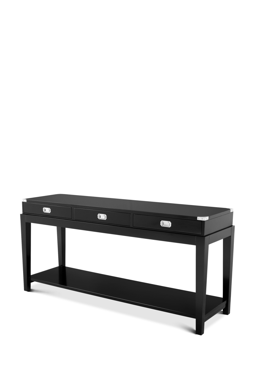 Black Console Table | Eichholtz Military | Woodfurniture.com