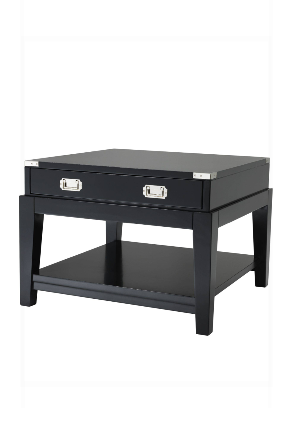 Black Side Table | Eichholtz Military | #1 Eichholtz Retailer
