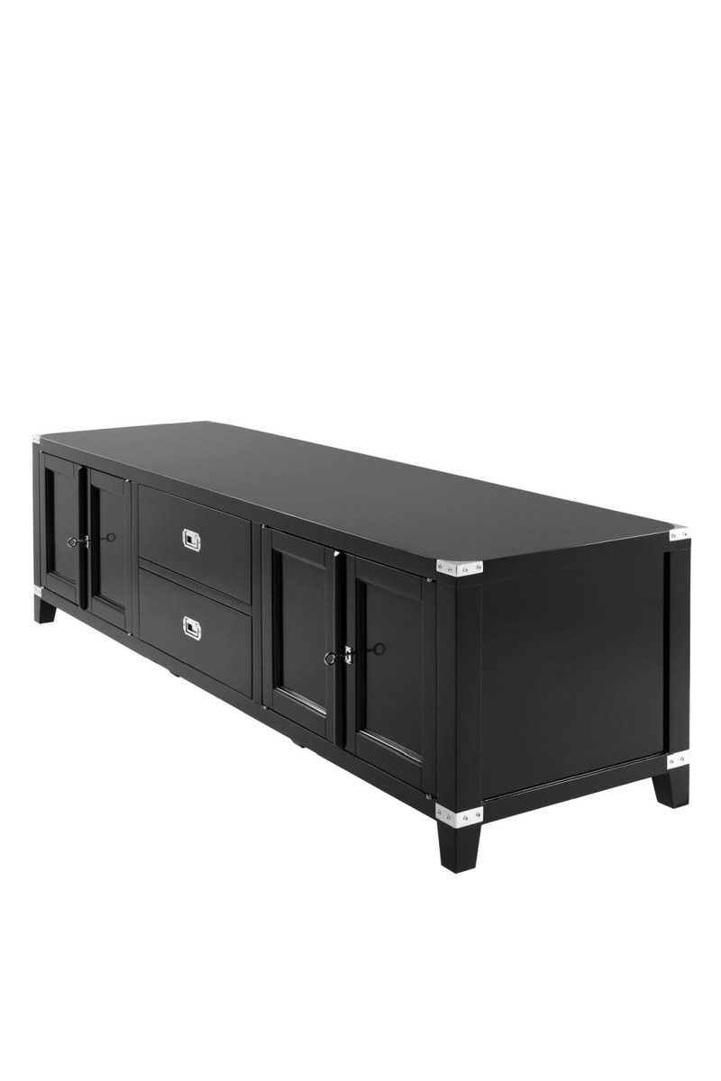 Black TV Cabinet | Eichholtz Military | Woodfurniture.com