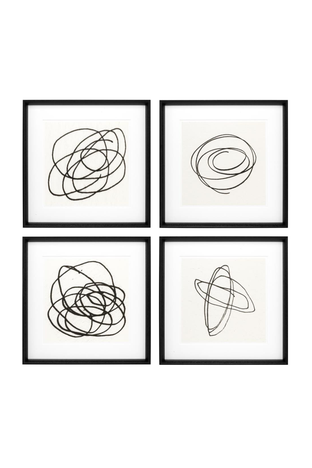 Art Prints | Eichholtz Black & White Collection ll (set of 4) | OROA