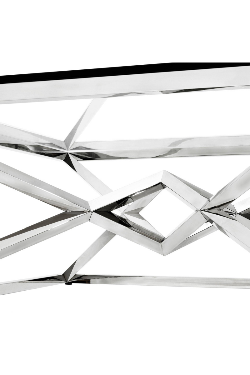 Crossed Leg Silver Coffee Table | Eichholtz Connor | OROA