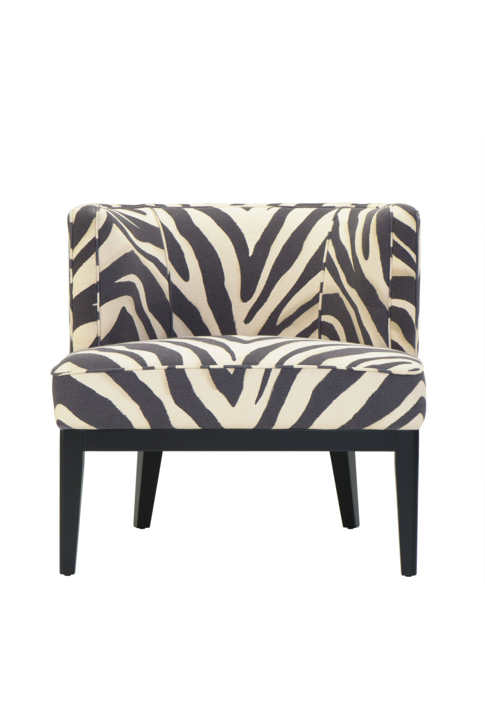 Zebra Print Accent Chair | Eichholtz Baldessari