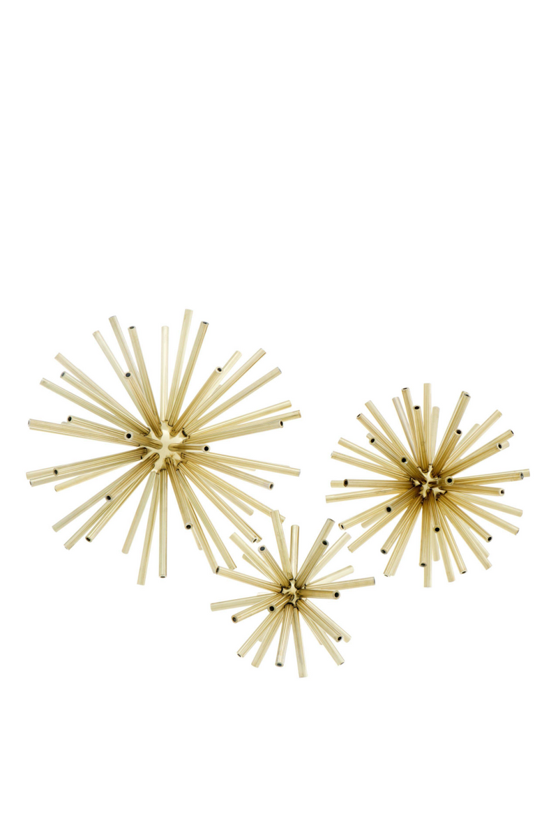 Brass Object Decor (set of 3) | Eichholtz Meteor | Eichholtz Retailer