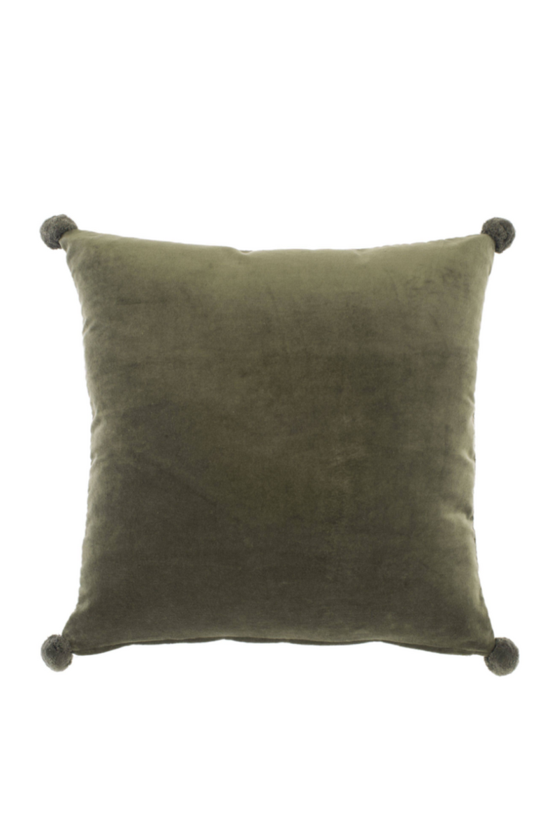 Green Bee Velvet Pillow | Eichholtz Lacombe | OROA - Modern Luxury