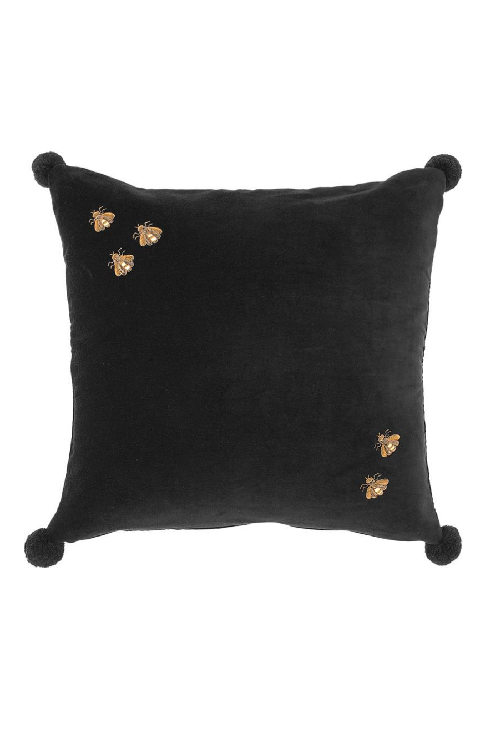 Golden Bees Pillow | Eichholtz Salgado | OROA Modern Decor