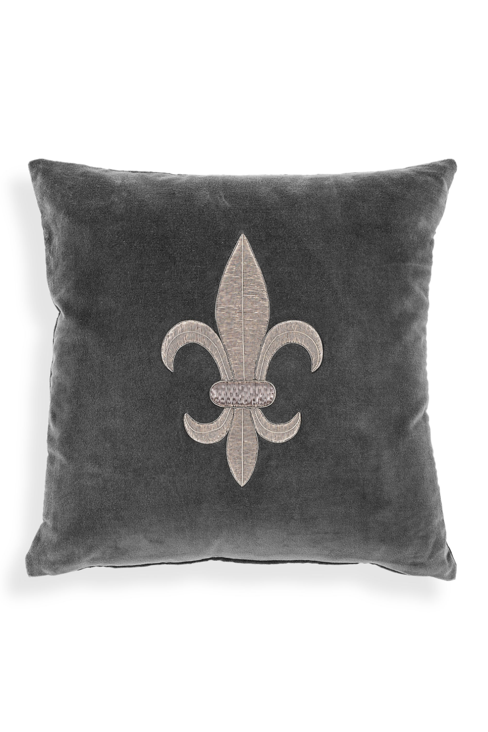 Gray Velvet Pillow | Eichholtz Theroux S | OROA Luxury Furniture