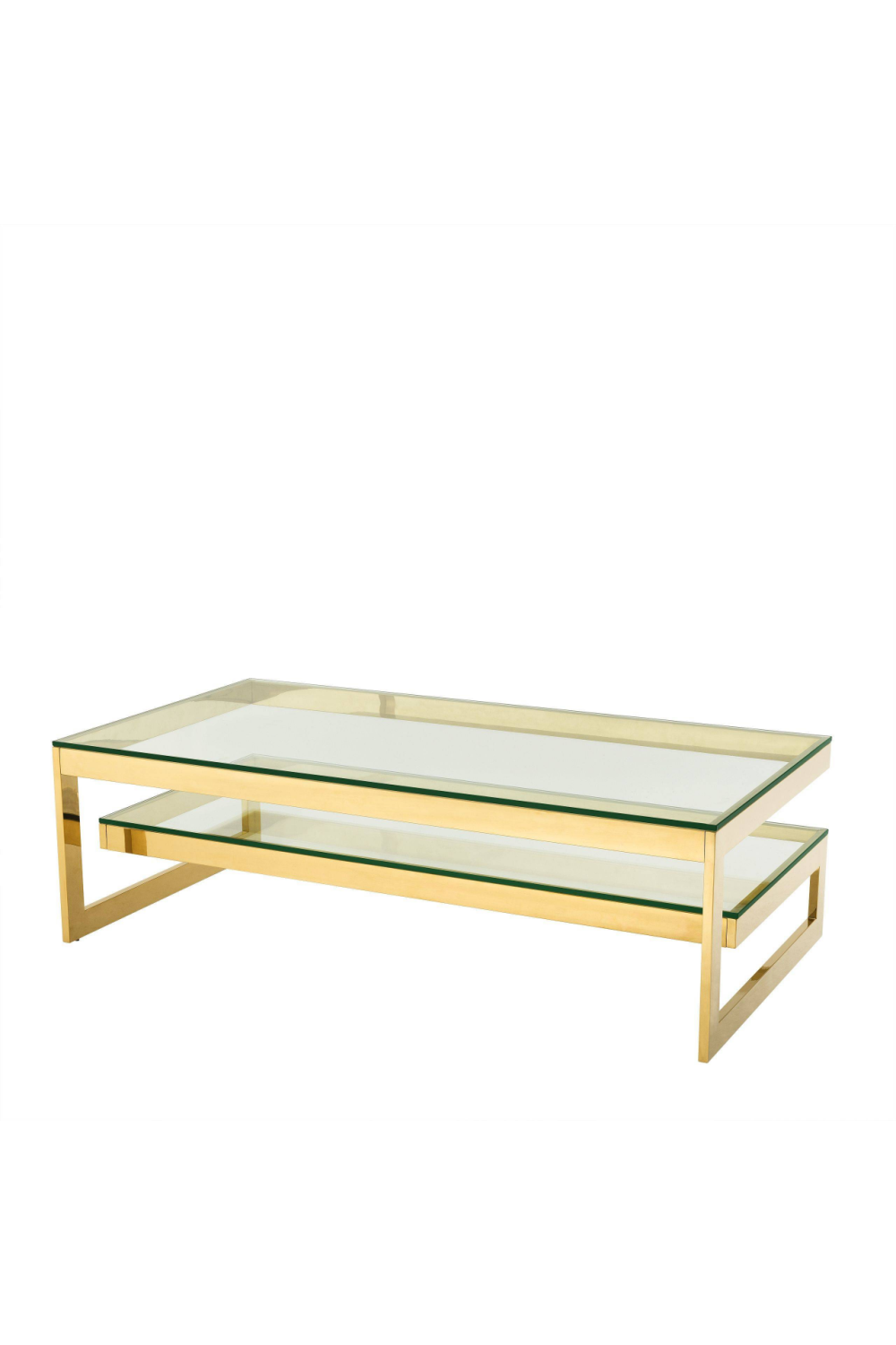 Two Level Gold Coffee Table | Eichholtz Gamma | #1 Eichholtz Retailer