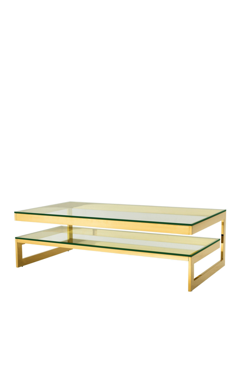 Two Level Gold Coffee Table | Eichholtz Gamma | #1 Eichholtz forhandler