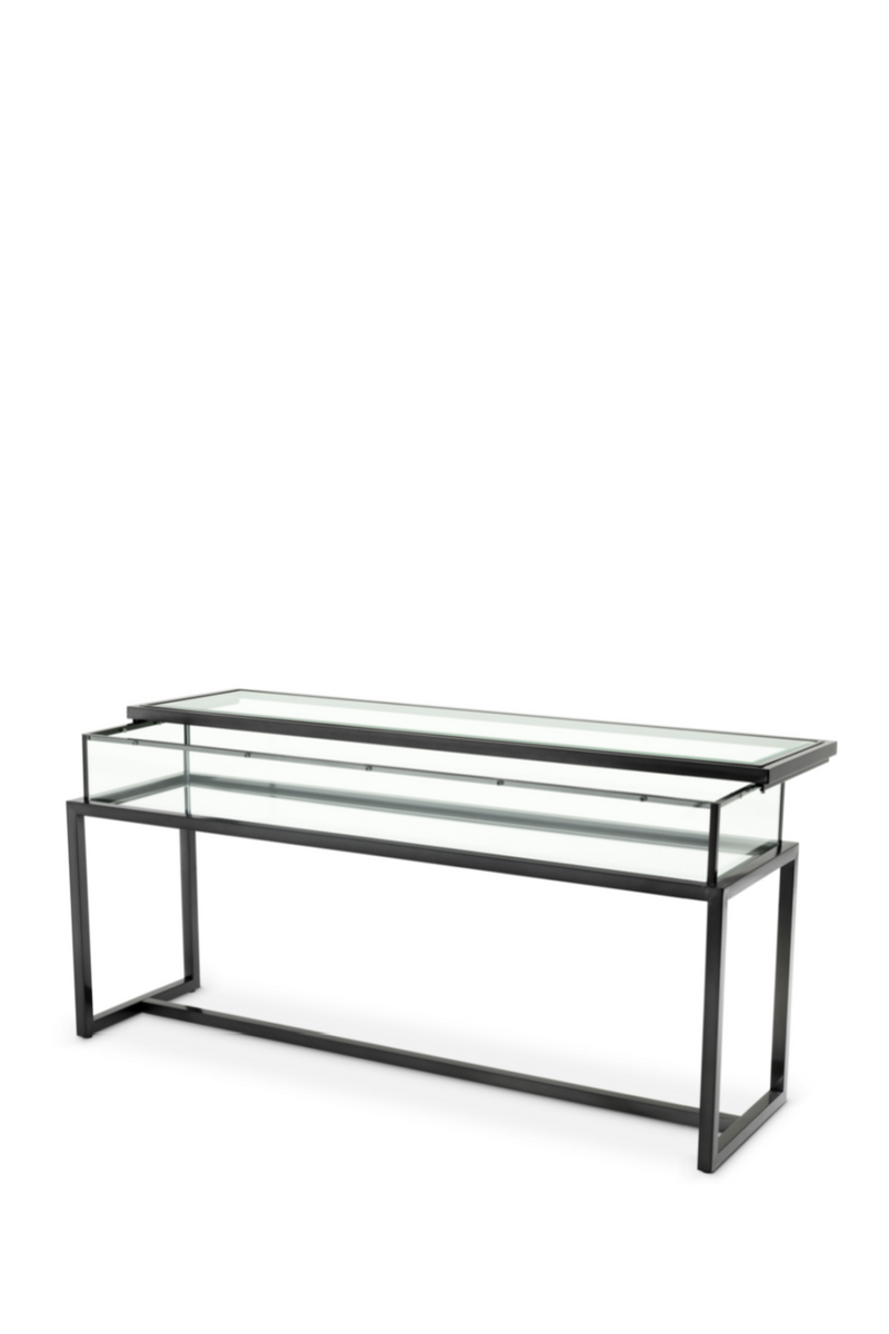 Bronze Sliding Top Console Table | Eichholtz Harvey | OROA