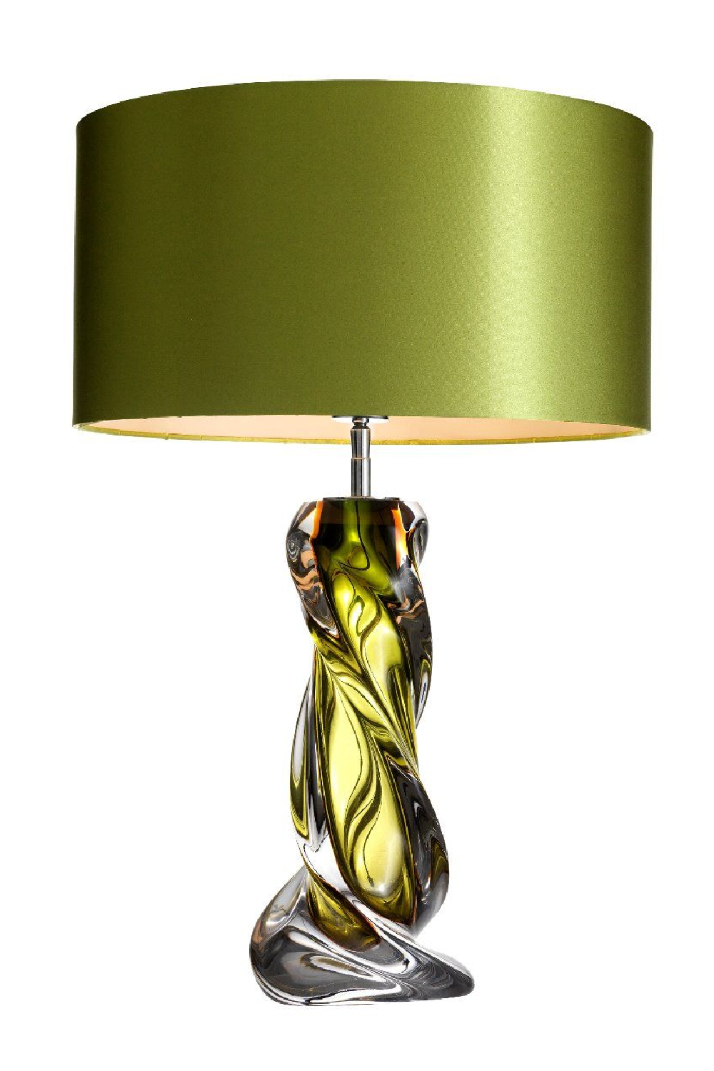 Green Blown Glass Table Lamp | Eichholtz Carnegie
