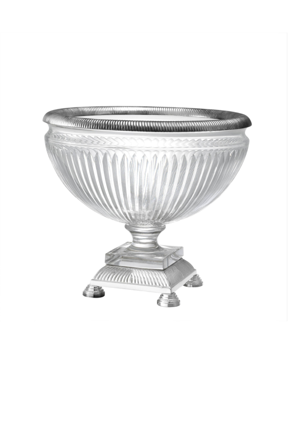 Clear Glass Bowl | Eichholtz Burton | OROA Modern & Luxury Furniture