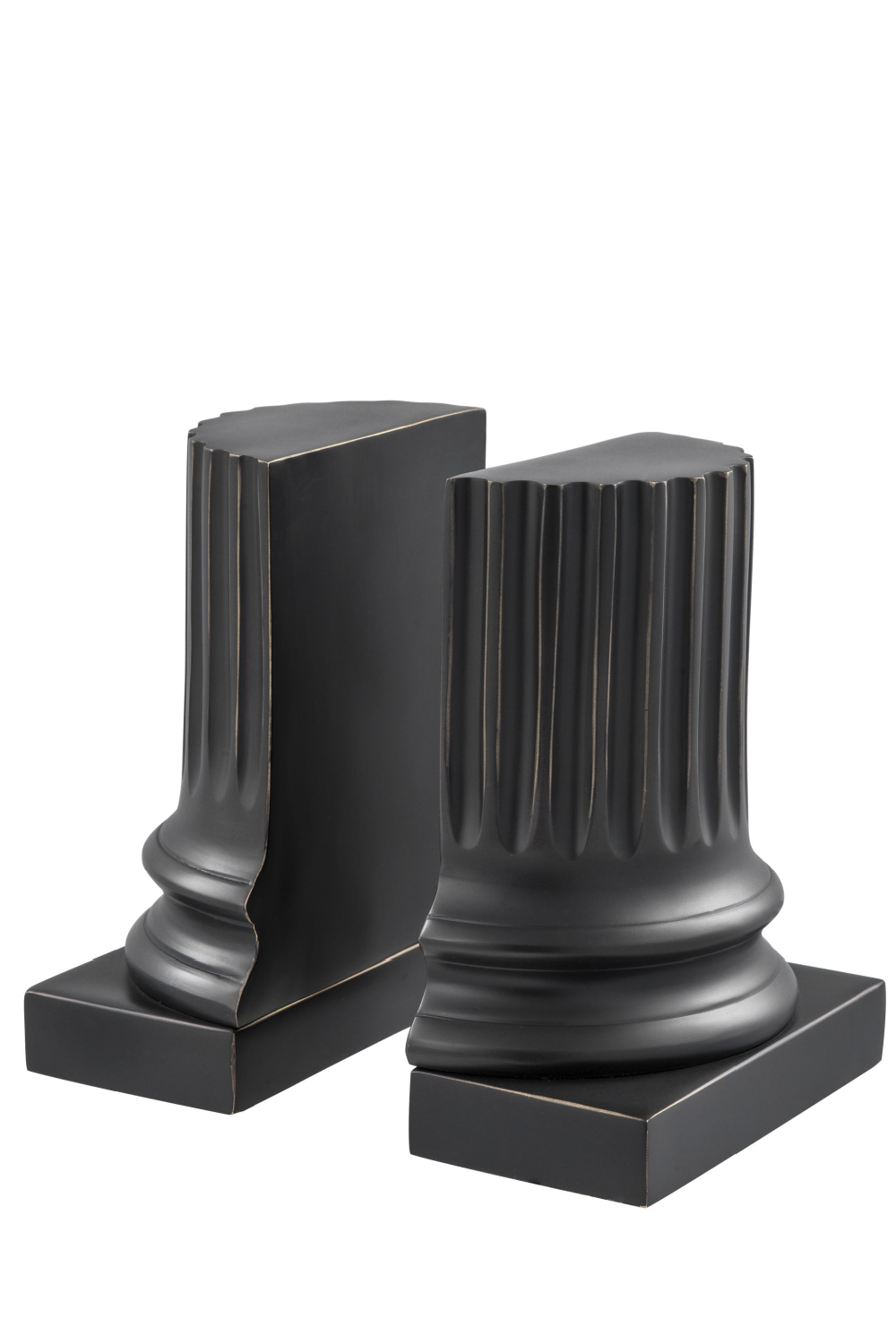 Bronze Bookends (set of 2) | Eichholtz Pillar | OROA Modern Furniture