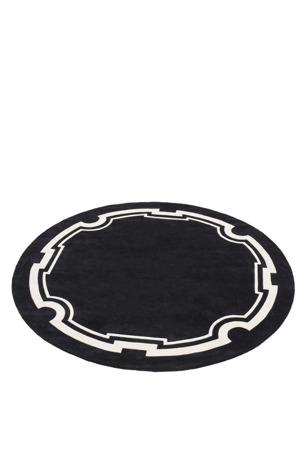 Black and Off White Rug | Eichholtz Palazzo | #1 Eichholtz Retailer