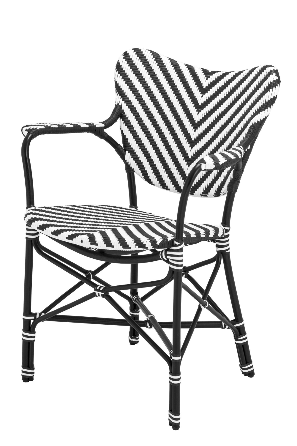 Black & White Dining Armchair | Eichholtz Colony