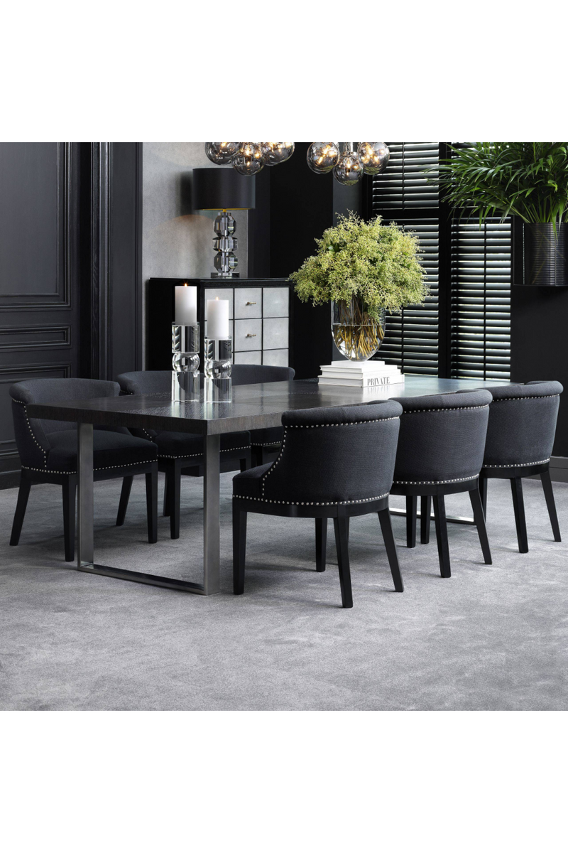 Charcoal Dining Table 100"