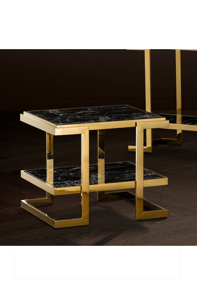 Gold Side Table | Eichholtz Senato |