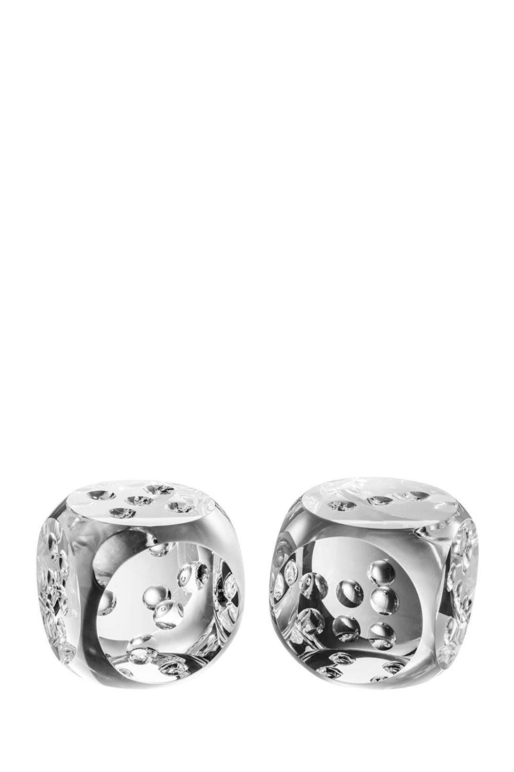 Glass Dice (set of 2) | Eichholtz Tradizone | OROA Modern Furniture