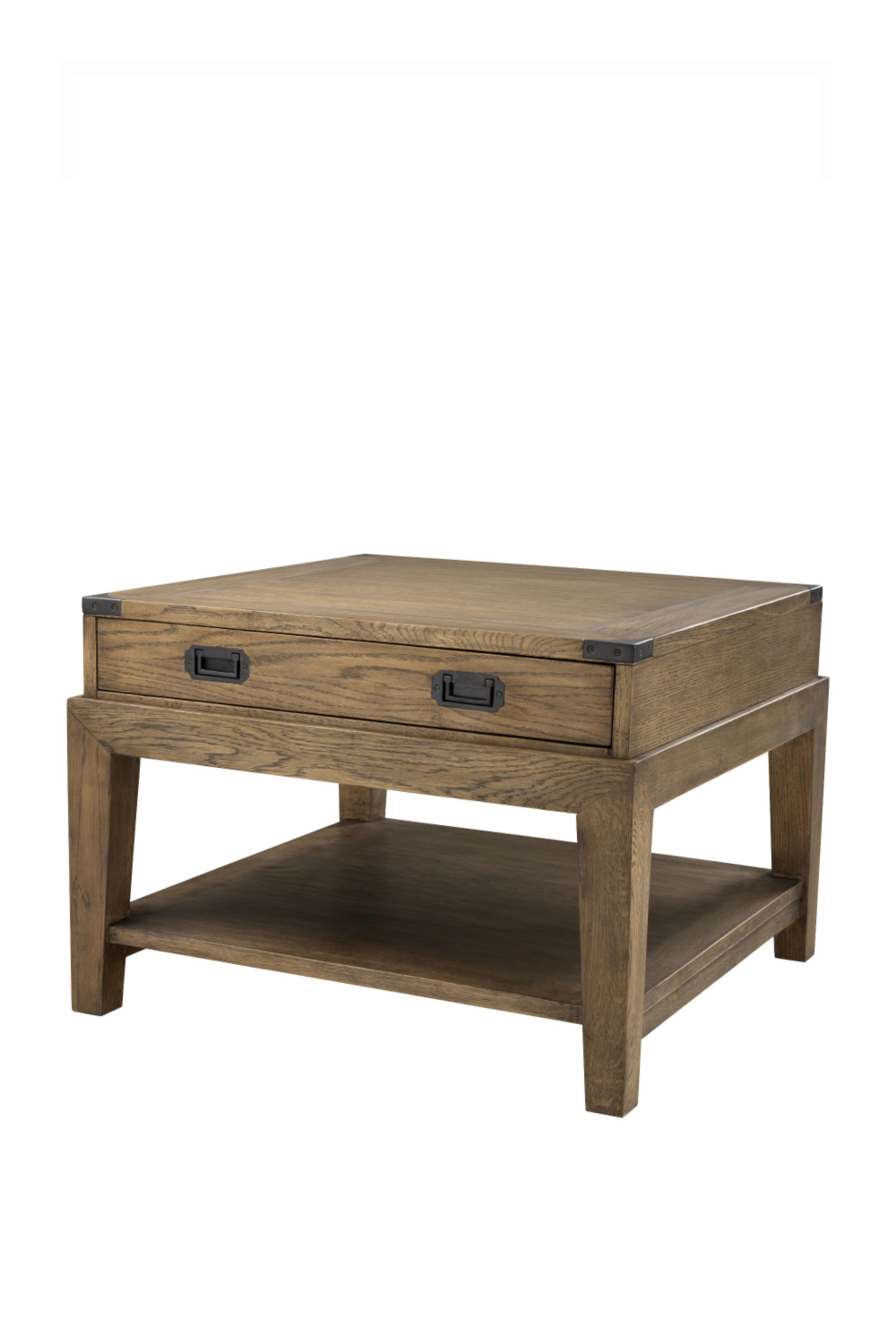 Wooden Side Table | Eichholtz Military | #1 Eichholtz Online Retailer