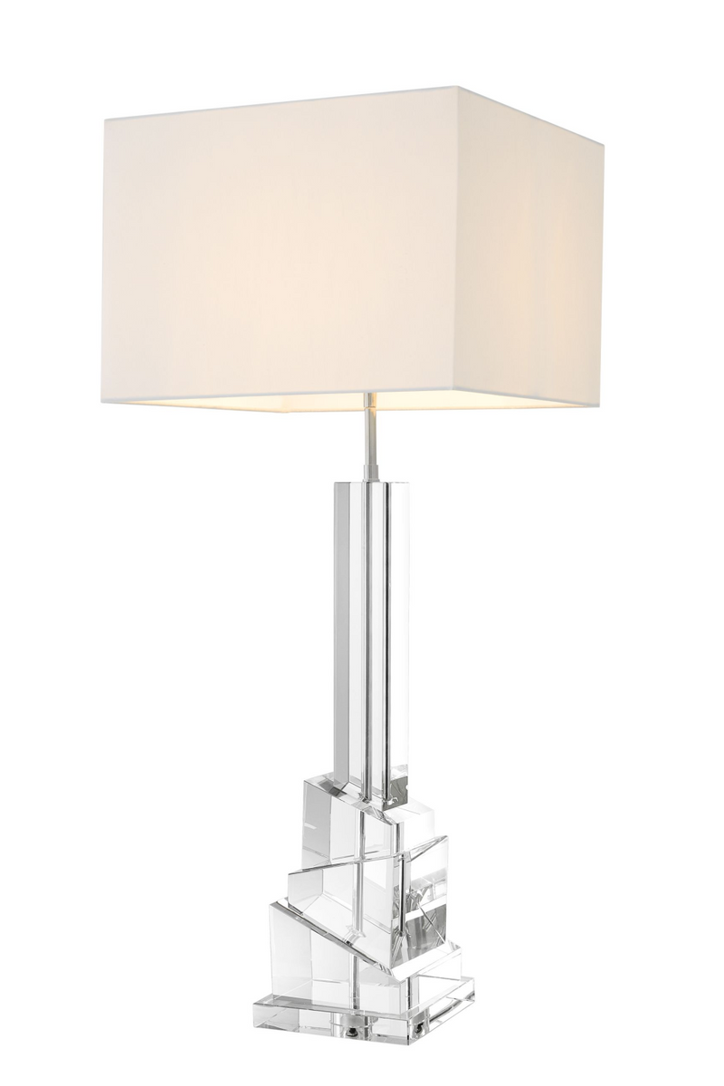 Crystal Glass Table Lamp | Eichholtz Modena |