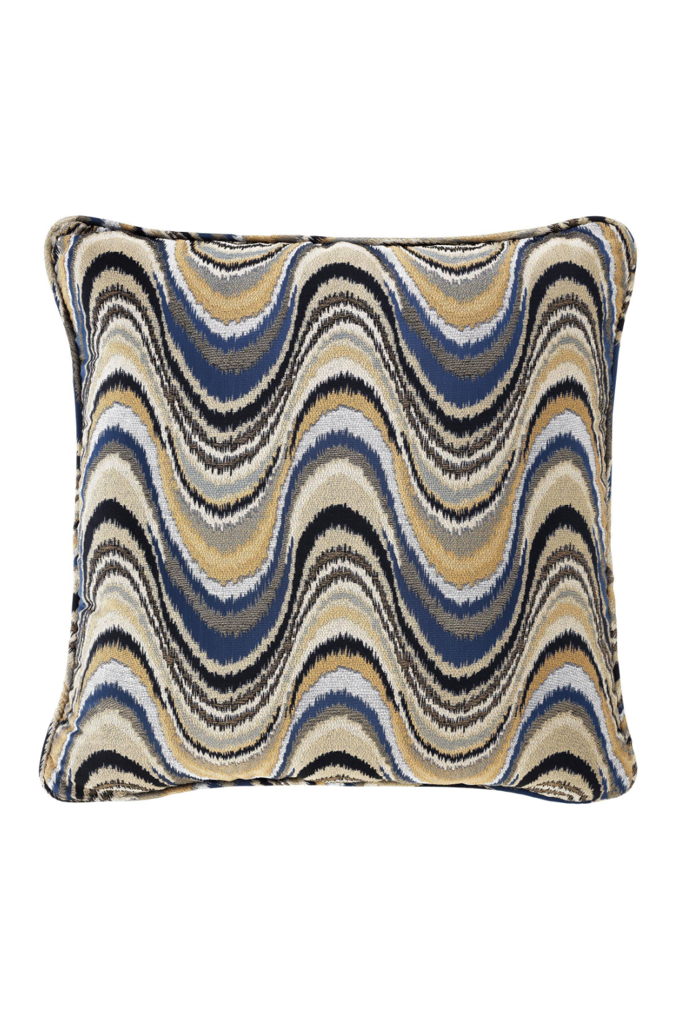 Blue Pattern Pillow - S | Eichholtz Jardin | OROA Modern Luxury Decor