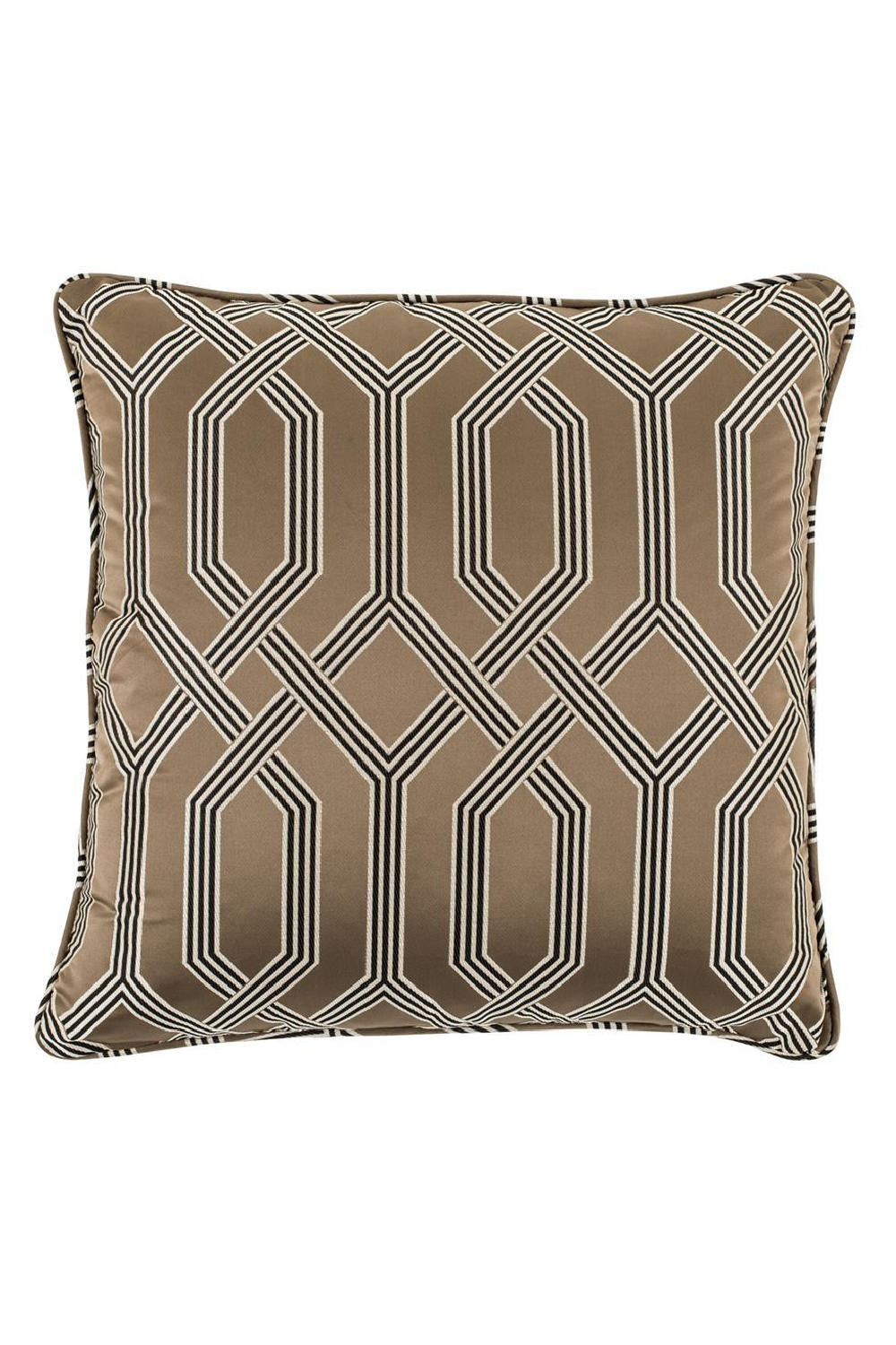 Square Brown Pillow 60cm | Eichholtz Fontaine | OROA