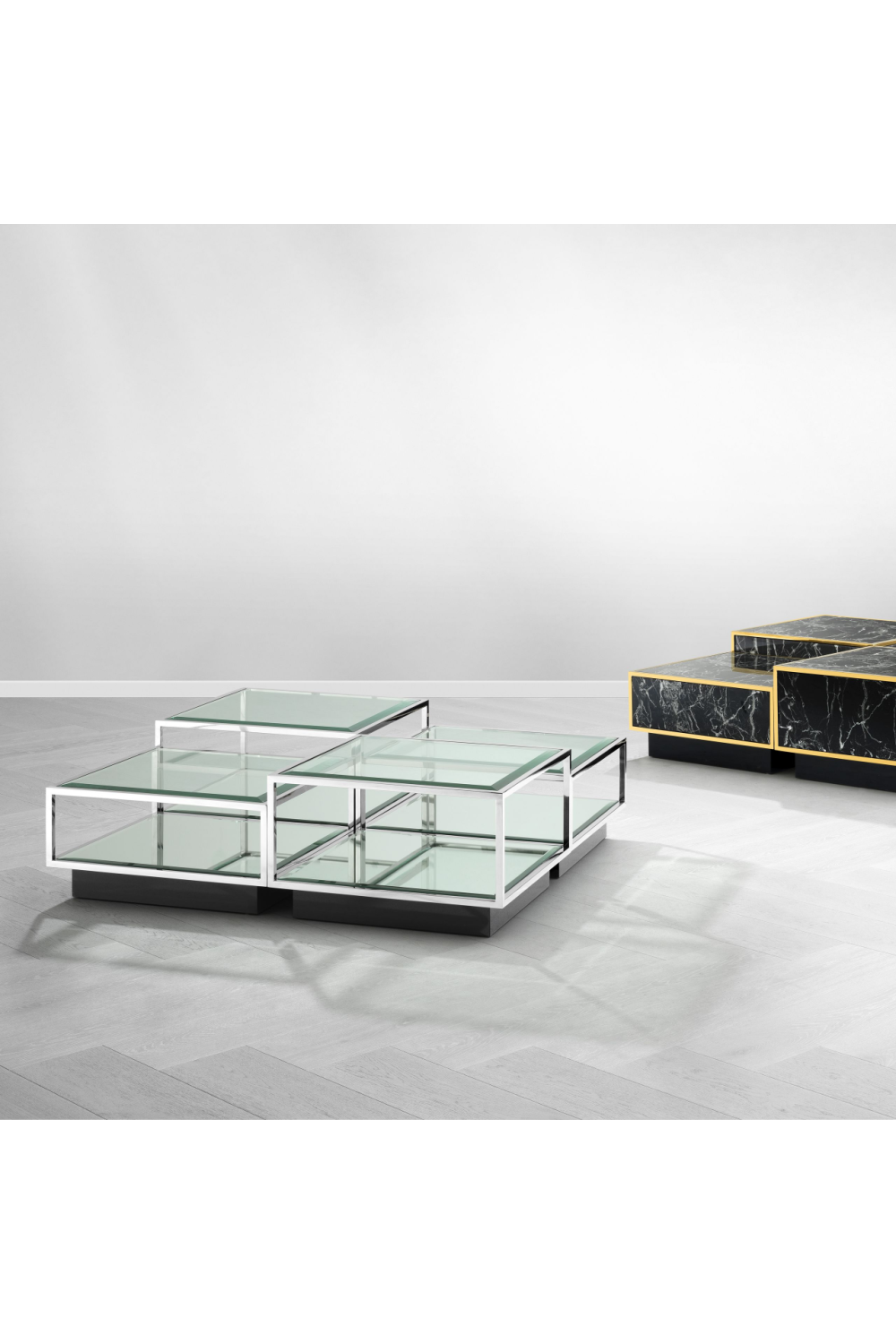 Multi Level Coffee Table Set| Eichholtz Tortona |#1 Eichholtz Retailer