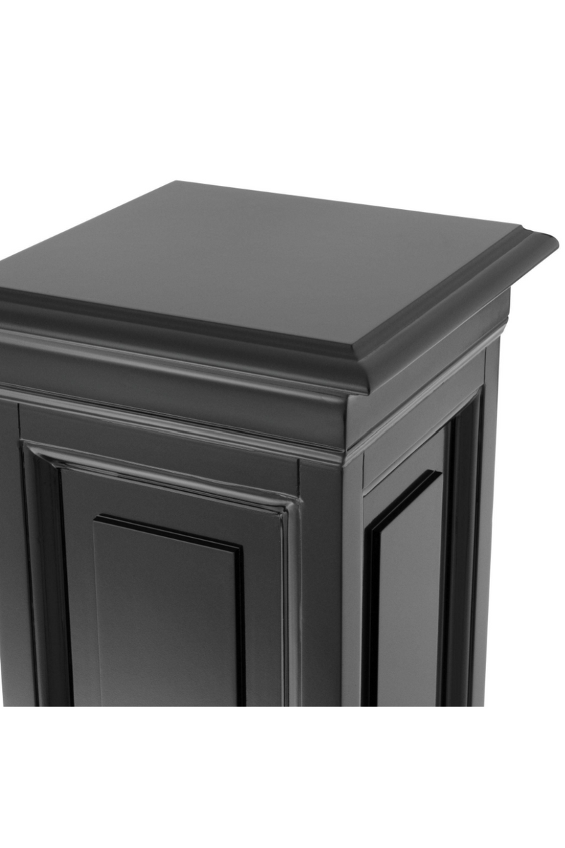Black Wooden Column - S | Eichholtz Salvatore |
