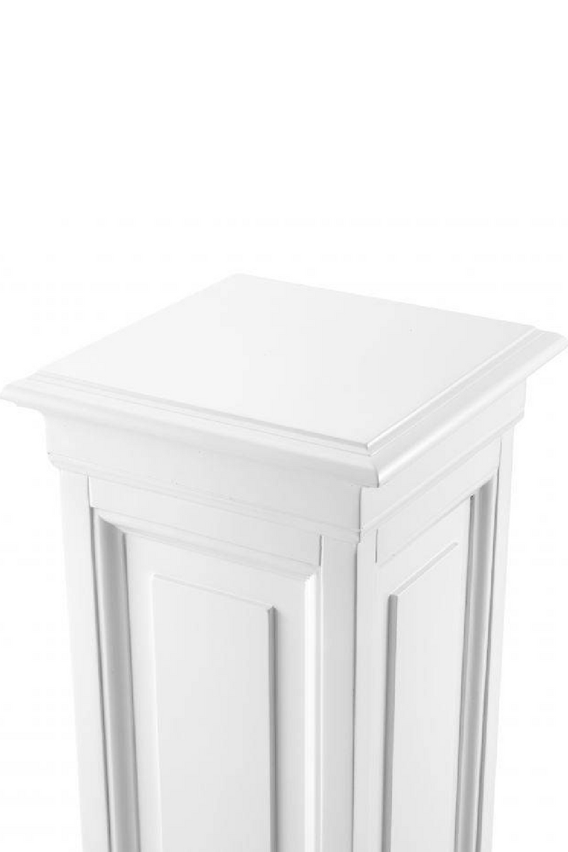 White Wooden Column - M | Eichholtz Salvatore